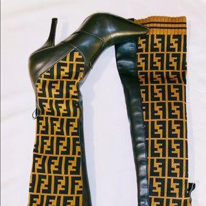 Fendi Shoes - Fendi Boots 4 inch heel